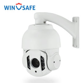 Middle Speed Weatherproof IP PTZ Camera , Outdoor IP PTZ HD Camera Wall Mount